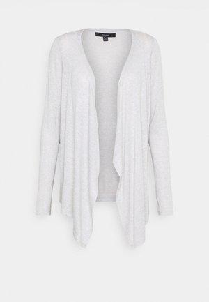 VMBRIANNA DRAPY CARDIGAN - Cardigan - light grey melange