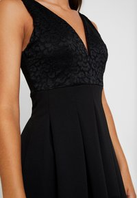 WAL G. - V NECK SKATER - Cocktail dress / Party dress - black - 5