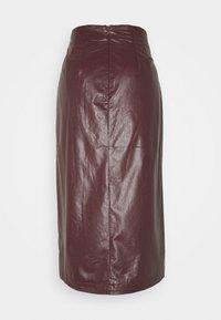 EDITED - SILVA SKIRT - Pencil skirt - rot - 1