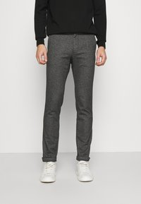 Tommy Hilfiger - BLEECKER  LOOK - Chinos - black - 0