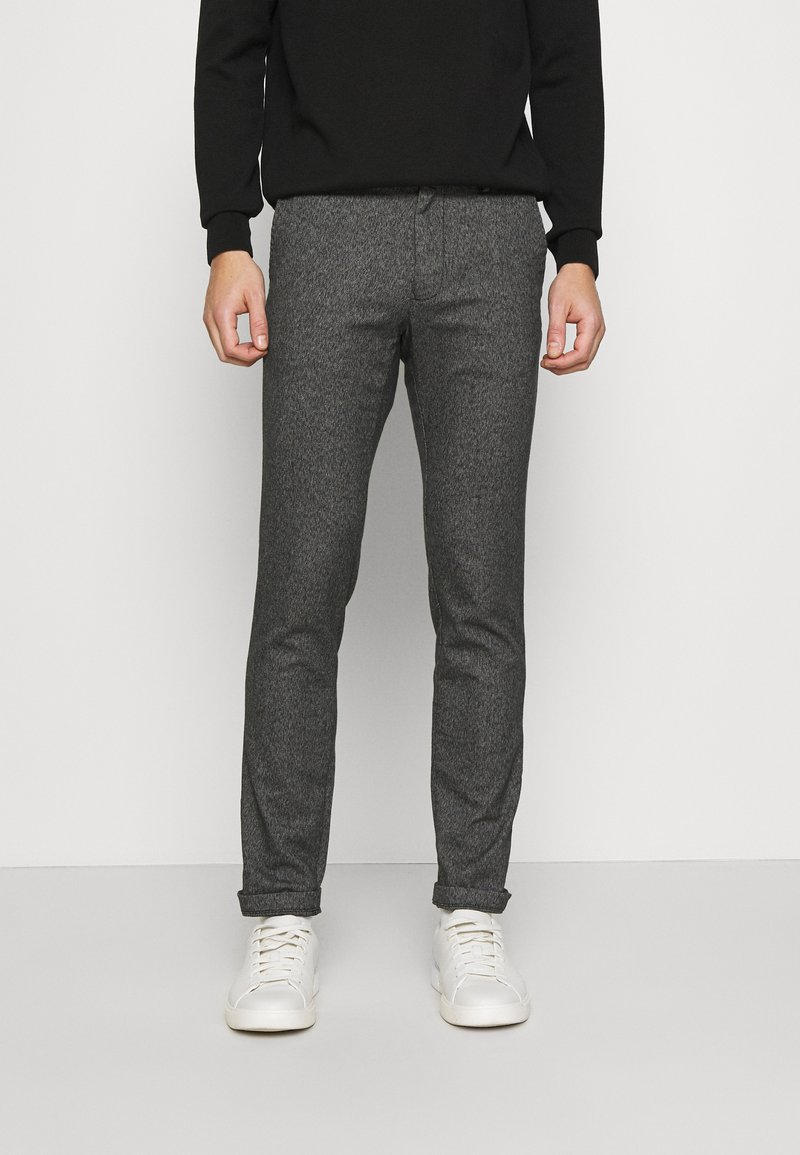 Tommy Hilfiger - BLEECKER  LOOK - Chinos - black