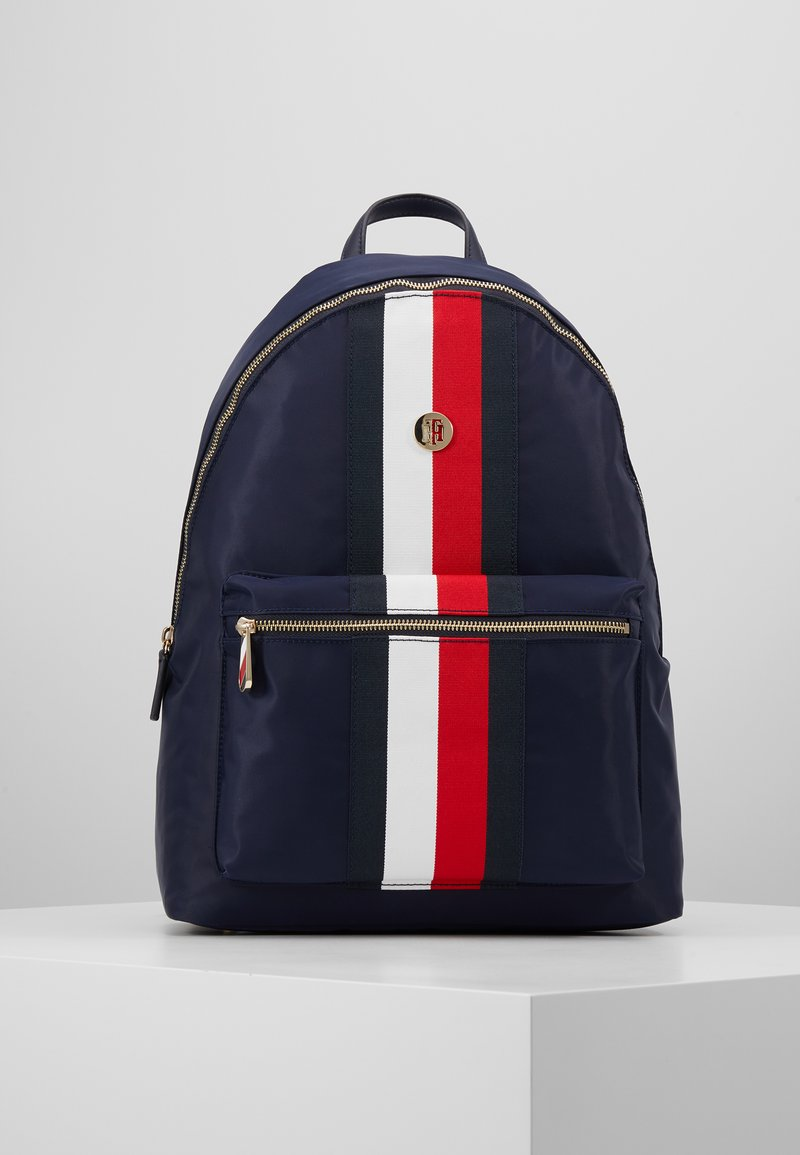 Tommy Hilfiger - POPPY BACKPACK CORP - Reppu - blue