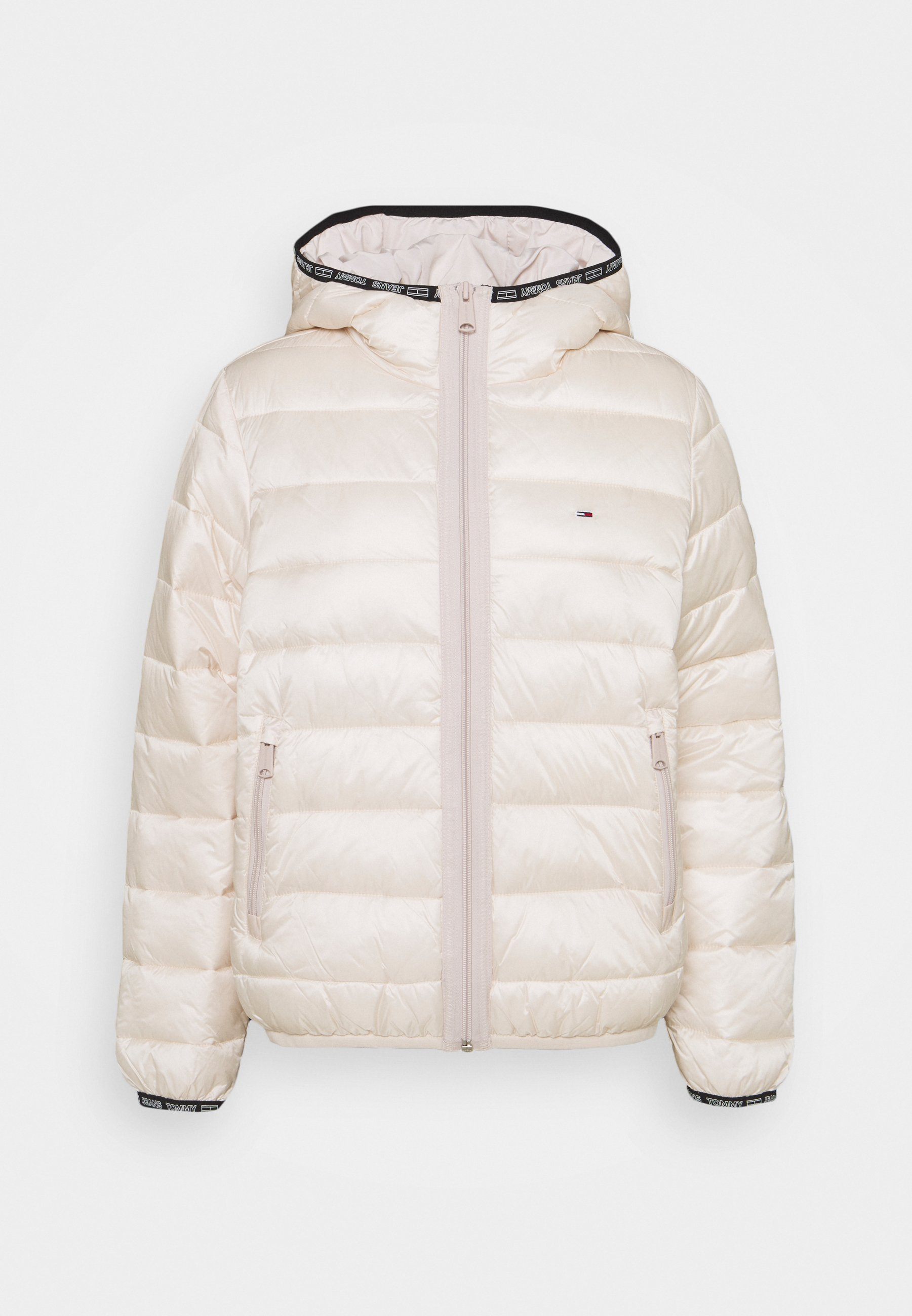 Mujer QUILTED TAPE HOODED JACKET - Chaqueta de invierno