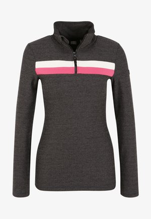 Long sleeved top - black out