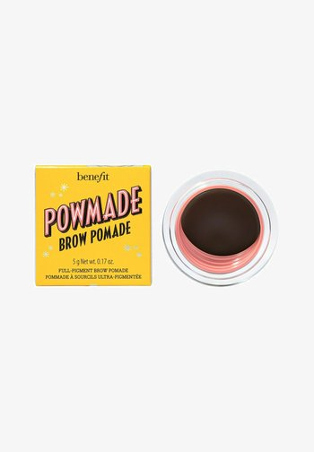 POWMADE BROW POMADE - HOCH PIGMENTIERTE AUGENBRAUEN POMADE - Eyebrow dye - Shade 4 Warm Deep Brown