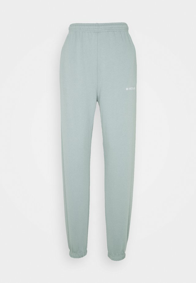 ZIA PANTS SAGE  - Tracksuit bottoms - sage green
