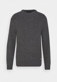 Scotch & Soda - Stickad tröja - granite melange - 0