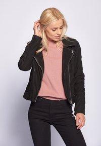 Maze - ROMIE - Leather jacket - black - 2