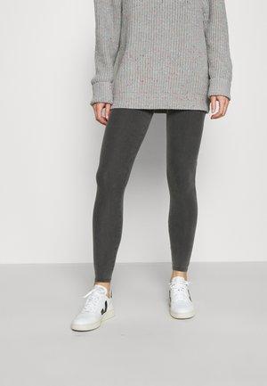 ACID WASH - Leggings - dark grey