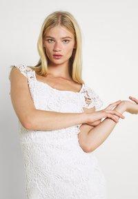 WAL G. - SABRIA MIDI DRESS - Cocktail dress / Party dress - white - 3