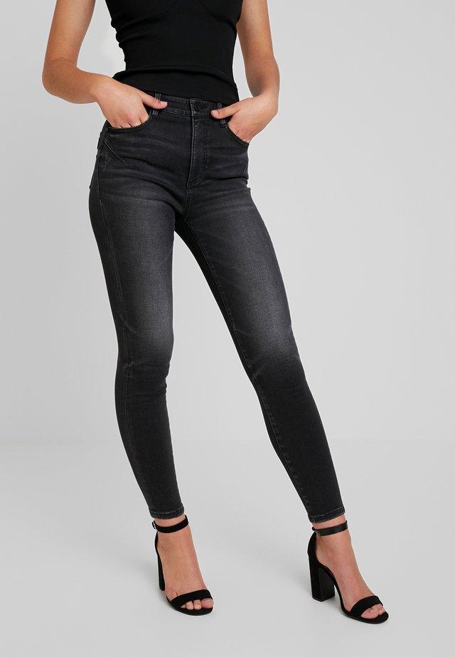 Jeans Skinny Fit - black fog