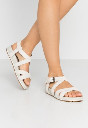 MALIBU WAVES ANKLE - Sandały - white