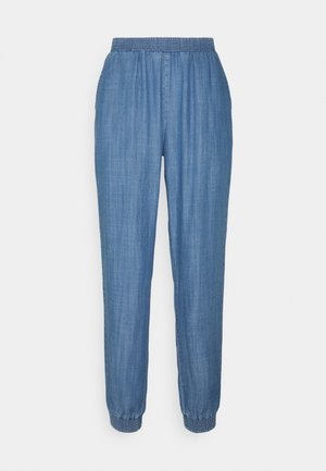 BYLANA PANTS - Jeans relaxed fit - mid blue denim