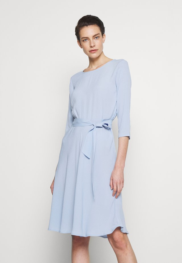JUNE - Day dress - cashmere blue