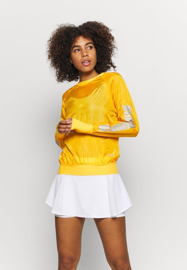 NIGHT CREW - Maglietta a manica lunga - citrus