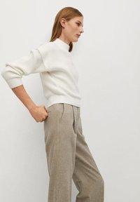 Mango - FIVE - Trousers - beige - 3