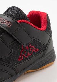 Kappa - KICKOFF - Sportschoenen - black/red - 2