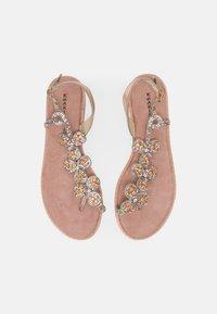 KHARISMA - T-bar sandals - rosa - 4