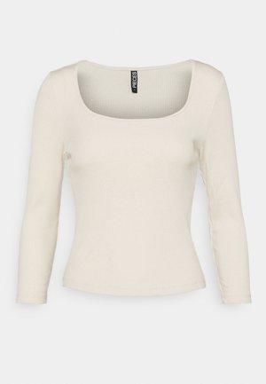 PCGERDIE CROPPED - Långärmad tröja - birch