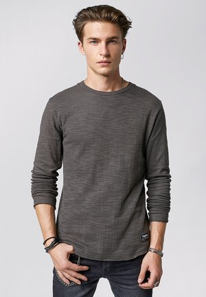 GARRET - Jumper - stone grey