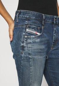 Diesel - D-FAYZA-NE - Relaxed fit jeans - medium blue - 4