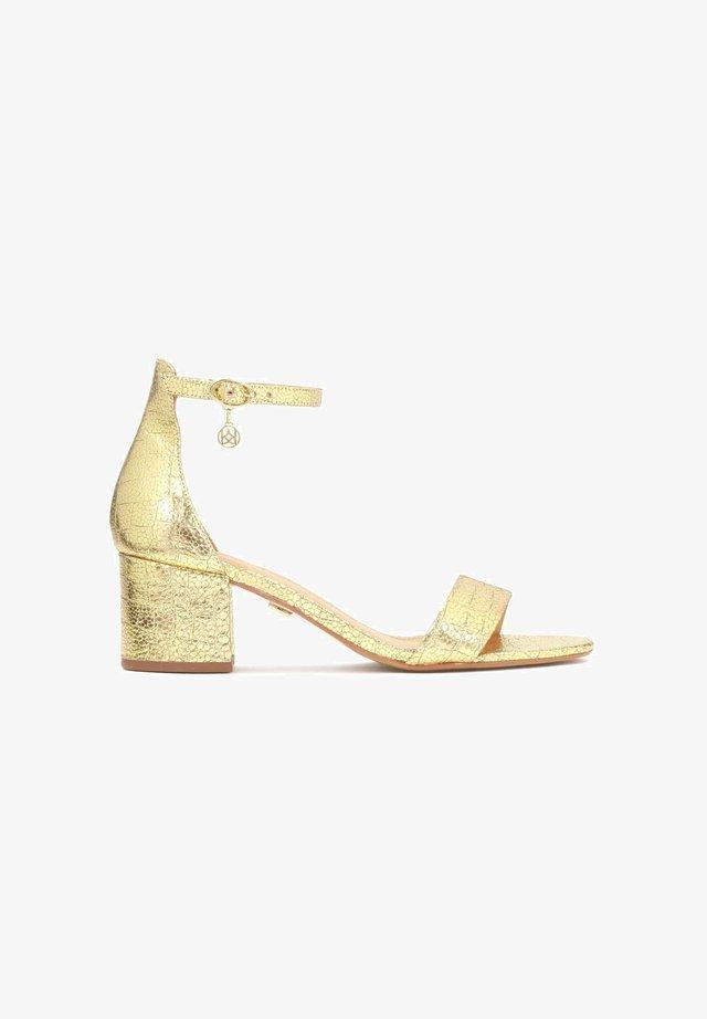 TANZANY  - Sandalen - gold