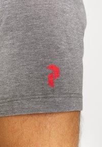 Peak Performance - EXPLORE TEE STRIPE  - Print T-shirt - grey melange - 5
