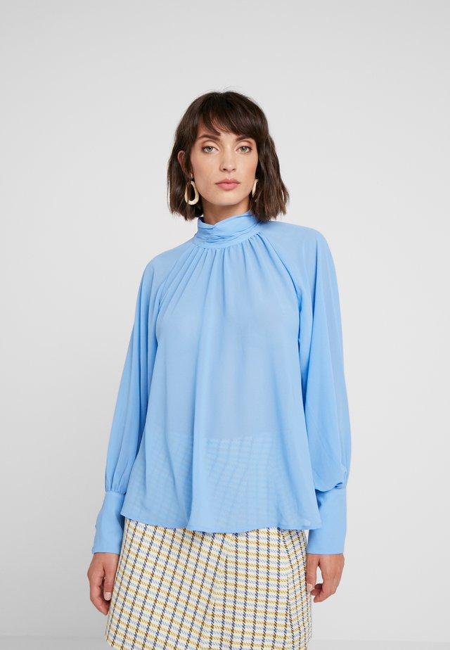 MARIE BLOUSE - Blouse - light blue