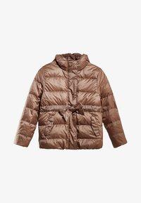 Massimo Dutti - MIT KAPUZE  - Down jacket - brown - 2