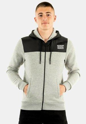 FLEBUR - Sweater met rits - gris