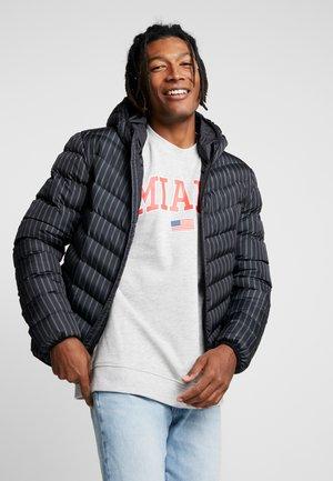 GRANTSTRIPE - Winter jacket - black/navy