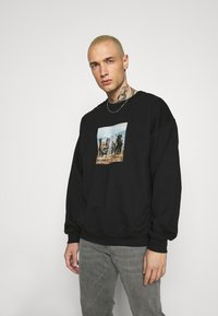 Mennace - TROOP  - Sweatshirt - black - 0