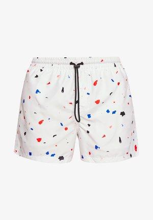 FRAGMENT - Swimming shorts - white/pink