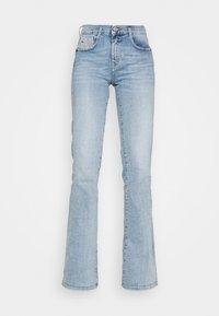 Diesel - D-EBBEY-BS - Flared Jeans - light blue - 4
