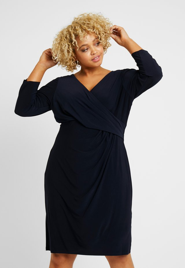 CLEORA DAY DRESS - Robe en jersey - lighthouse navy