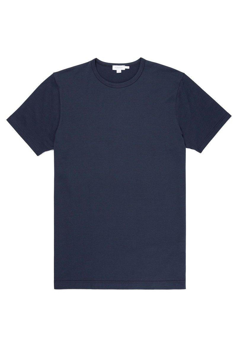 Sunspel - Basic T-shirt - navy