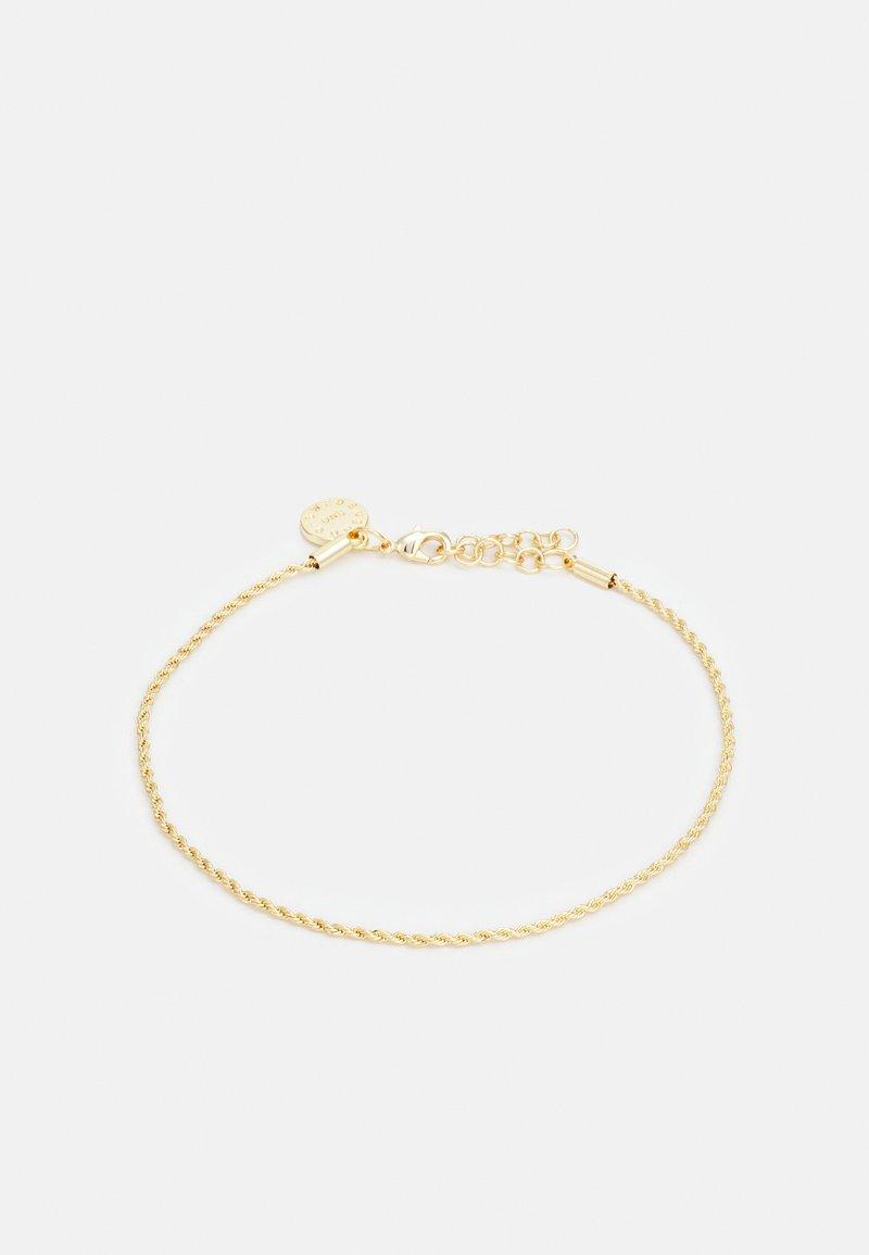 SNÖ of Sweden - ANKLET MADELEINE PLAIN - Bracelet - gold-coloured