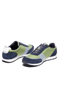 Timberland - LUFKIN  - Sneakersy niskie - md green mesh wblu - 2