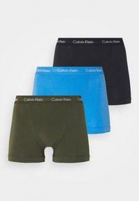 Calvin Klein Underwear - TRUNK 3 PACK - Pants - green - 5