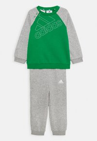 adidas Performance - UNISEX - Chándal - green/white/medium grey heather - 0