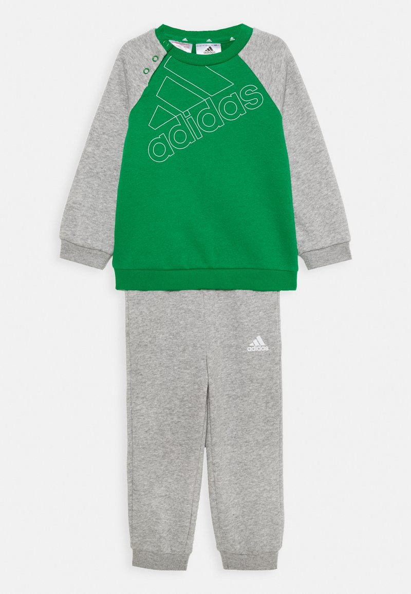 adidas Performance - UNISEX - Chándal - green/white/medium grey heather