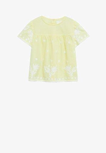 Blouse - geel