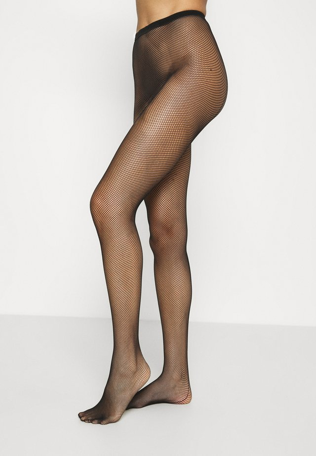 FISHNET TIGHTS - Strømpebukser - black