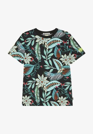 TEE WITH ALLOVER - T-shirts med print - multicoloured
