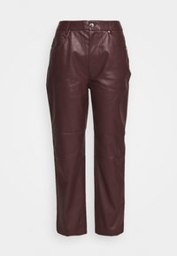 EDITED - MARESA TROUSERS - Trousers - rot - 3