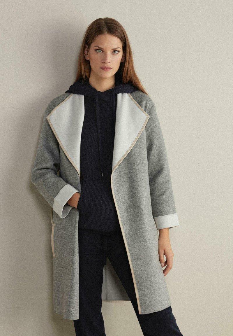 Falconeri - Winter coat - grigio/gesso