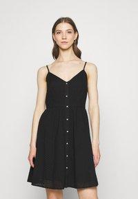 ONLY - ONLHENRY DRESS - Day dress - black - 0