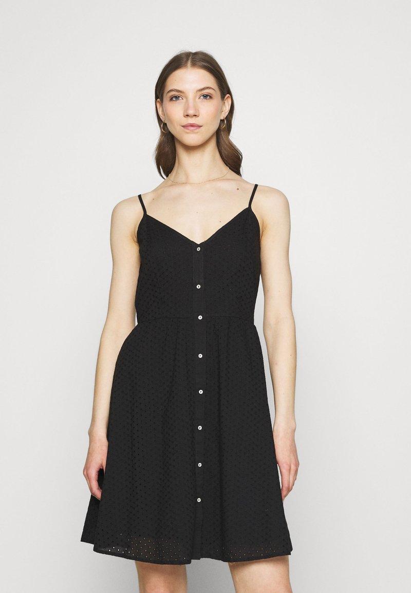 ONLY - ONLHENRY DRESS - Day dress - black