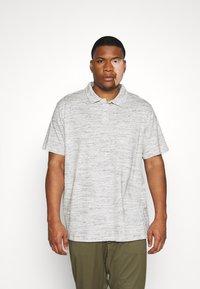 Pier One - Polo shirt - mottled light grey - 0
