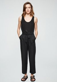 ARMEDANGELS - TIMEAA - Trousers - black - 1